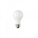 8W LED A19 Bulb, Dimmable, 725 lm, 2700K, White