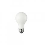8W LED A19 Bulb, 725 lm, 2700K, White