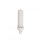10.5W LED PL Bulb, Omnidirectional, Dimmable, 950 lm, 5000K, White
