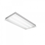 80W 2X4 LED Troffer, Dimmable, 6800 Lumens, 5000K