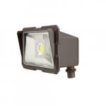 20W LED Flood light, 5000K, 1725 Lumens, Bronze