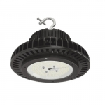 100W Round High Bay LED Light, Dimmable, 14000 lm, 120V-277V, 4000K