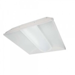 45W 2X2 LED Troffer Dimmable, 4400 Lumens, 3000K