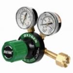 Medium Duty G Pressure Gauge Regulator, CGA540, Oxygen, 3,000 PSIG Inlet