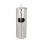 Stainless Steel Dispenser Stand Receptacle w/ No Door