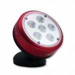 Small LED Rotating Magnetic Work Light, 6 Lights