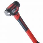 4 lb. Engineer Hammer w/Fiberglass Handle, Red/Black