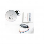 Ionization Smoke Alarm & Strobe Kit, Hardwired