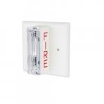 Smoke Alarm Strobe, 120V AC, Hardwired