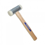 11.25-in Nylon Face Hammer w/ Hardwood Handle, 1.25 lb Head