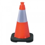 18-in Enviro Cone w/ Reflective Collar, Orange