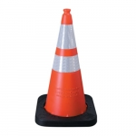 28-in Enviro Cone w/ Reflective Collar, Orange