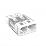 Compact Splicing Connector, 2-Conductor, White, Pack of 20