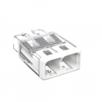 Compact Splicing Connector, 2-Conductor, White, Pack of 2500