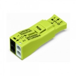 Luminaire Quick Disconnect, 2-Port Lumi Nut Push-Wire Connector - 25pk