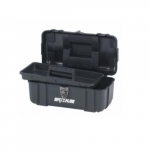 Plastic Tool Box, Polypropylene, Black
