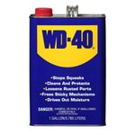 1 Gallon WD-40 Lubricant Open Stock Can, Pack of 4