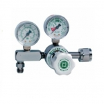 M1 Series Preset Pressure Gauge Regulators, CGA540 Nut/Nipple, 3000 PSI