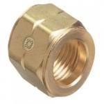 C-size Hose Nuts, 200 PSIG, Brass