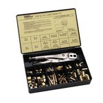3/16 in, 1/4 in Hose Repair Kit w/C-5 Tool