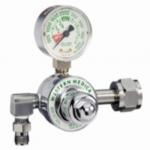 M1 Series Preset Pressure Gauge Regulators, CGA540 Nut/Nipple, Oxygen