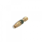 Male Plug Brass Inert Gas/Oxygen Quick Connect Component