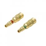 Fuel Gas Male Plug Quick Connect Component