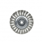 3-in Stem Mounted Crimped Wire Wheel