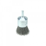 1-in Crimped Wire End Brush, .006-in Stainless Steel Fill