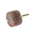 1.5-in Coated Abrasive Flap Wheel, 1/4-in Stem, 60 Grit, 25000 RPM