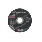 4.5-in Wolverine Flat Cutting Wheel, 60 Grit, Aluminum Oxide, Resin Bond