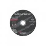 6-in Wolverine Flat Cutting Wheel, 60 Grit, Aluminum Oxide, Resin Bond