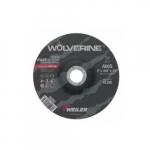 6-in Wolverine Depressed Center Cutting Wheel, 60 Grit, Aluminum Oxide, Resin Bond