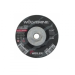 4.5-in Wolverine Depressed Center Cutting Wheel, 24 Grit, Aluminum Oxide, Resin Bond