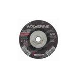 24 Grit R Grade 4.5 Inch Diameter Wolverine Grinding Wheels