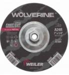 R Grade Wolverine Grinding Wheels, 24 Grit, 11 Arbor