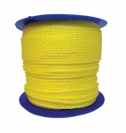 1200-ft Twisted Polypropylene Rope, .25-in Diameter, 1080 lb Load Capacity, Yellow
