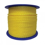 .87-in X 600-ft Monofilament Poly Rope, Yellow