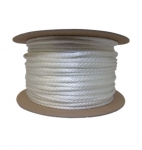 500-ft Braided Nylon Rope, .25-in Diameter, 1238 lb Load Capacity, White