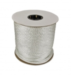 500-ft Braided Nylon Rope, .375-in Diameter, 2475 lb Load Capacity, White