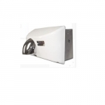 1800W Nova 4 Recessed-Mounted, Automatic Hand Dryer, 208V-240V, Cast Iron, White