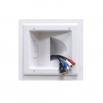 Recessed Duplex Receptacle, White