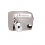 2300W AirMax Hand Dryer, Brushed Stainless Steel, 115V