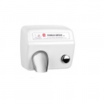 2300W AirMax Hand Dryer, White Stamped Steel, 115V