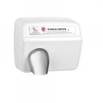 2300W AirMax Hand Dryer, White Stainless Steel, 230V