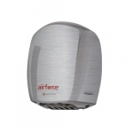 1100W AirForce Hand Dryer, Stainless Steel, Brushed Finish