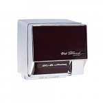 2000W Automatic NoTouch Hand Dryer, 208V-240V, Aluminum, White Body