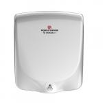 950W VERDEdri Hand Dryer, Aluminum, 220/240V, White Finish