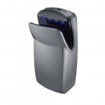 1000W Vmax V2 High Impact ABS Vertical Hand Dryer, 110V-120V, Silver