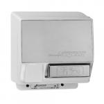 2000W Push-Button AirSpeed Hand Dryer, 110V-120V, Aluminum, Chrome Body